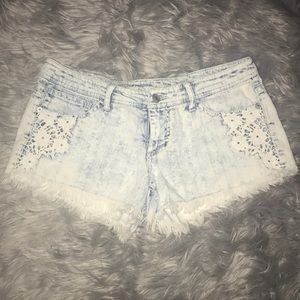 [Mossimo] Acid washed Jean shorts